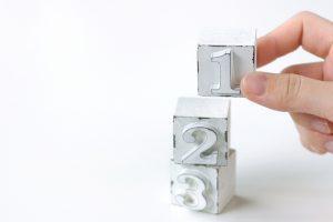 1・2・3のブロック